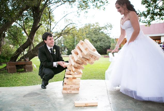 Cape Town Wedding Games Giant Jenga