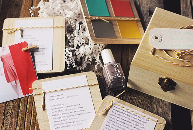 Cape Town Wedding Bridesmaids Box Featured