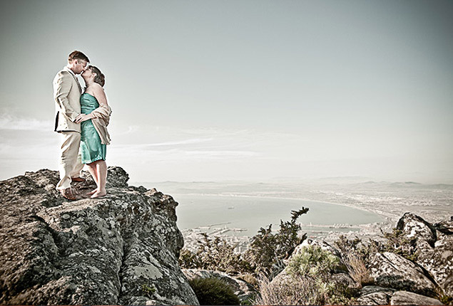 Cape Town Wedding Proposal Table Mountain