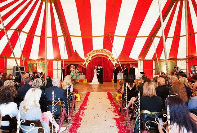 Cape Town Wedding - Circus