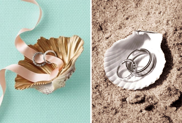 Cape Town Wedding - Beach Ringbearer Seashell