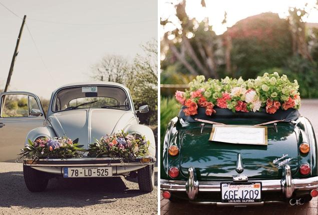 Cape Town Wedding Car Decor Flower